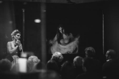 Natasha Miha - Multimedia concert Muzej na Grad SkopjeElena Atanasovska pianoBruce Boyd PhotographyAna Andonova Photography